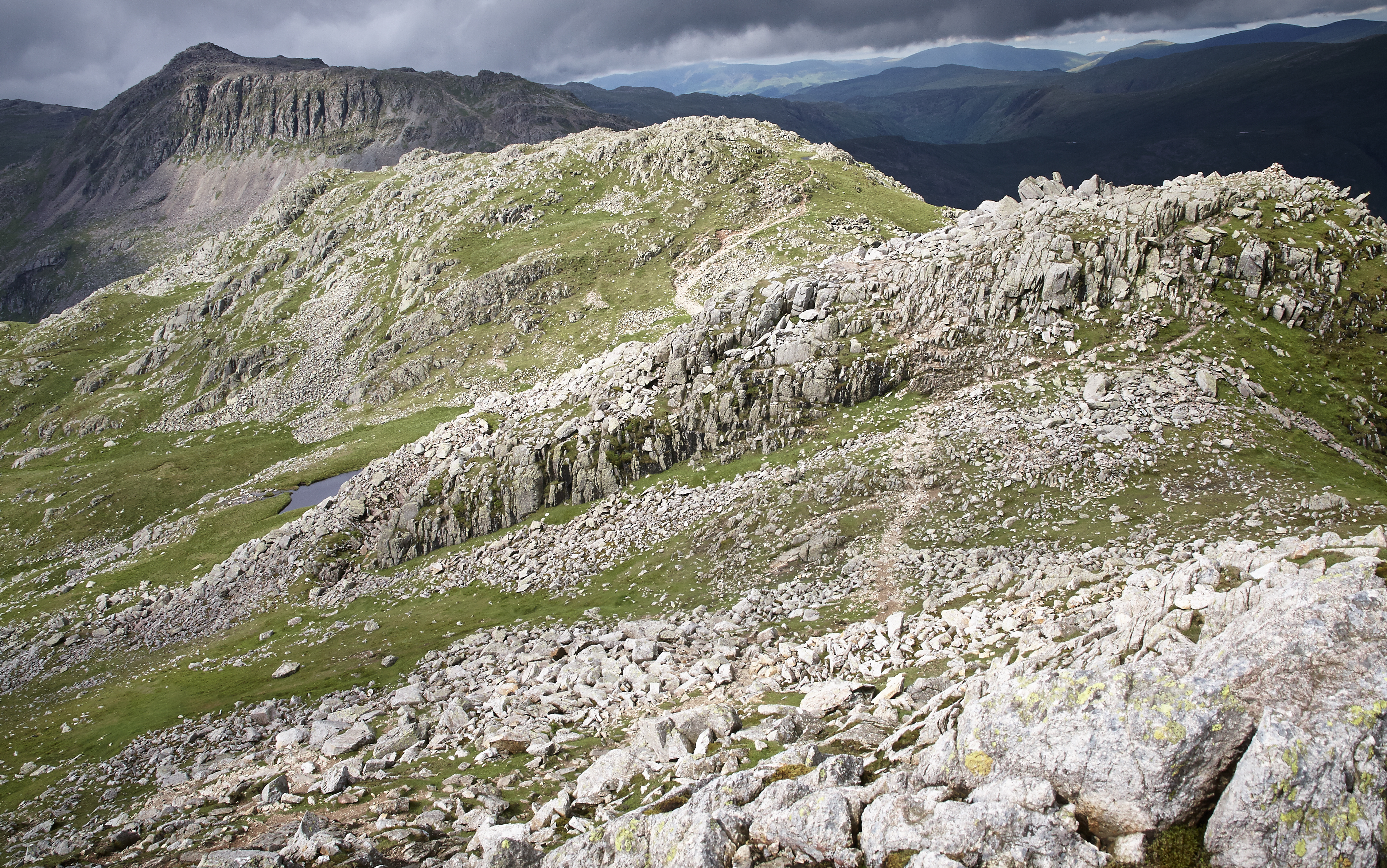 Lake District, Crickle Crags - 009
