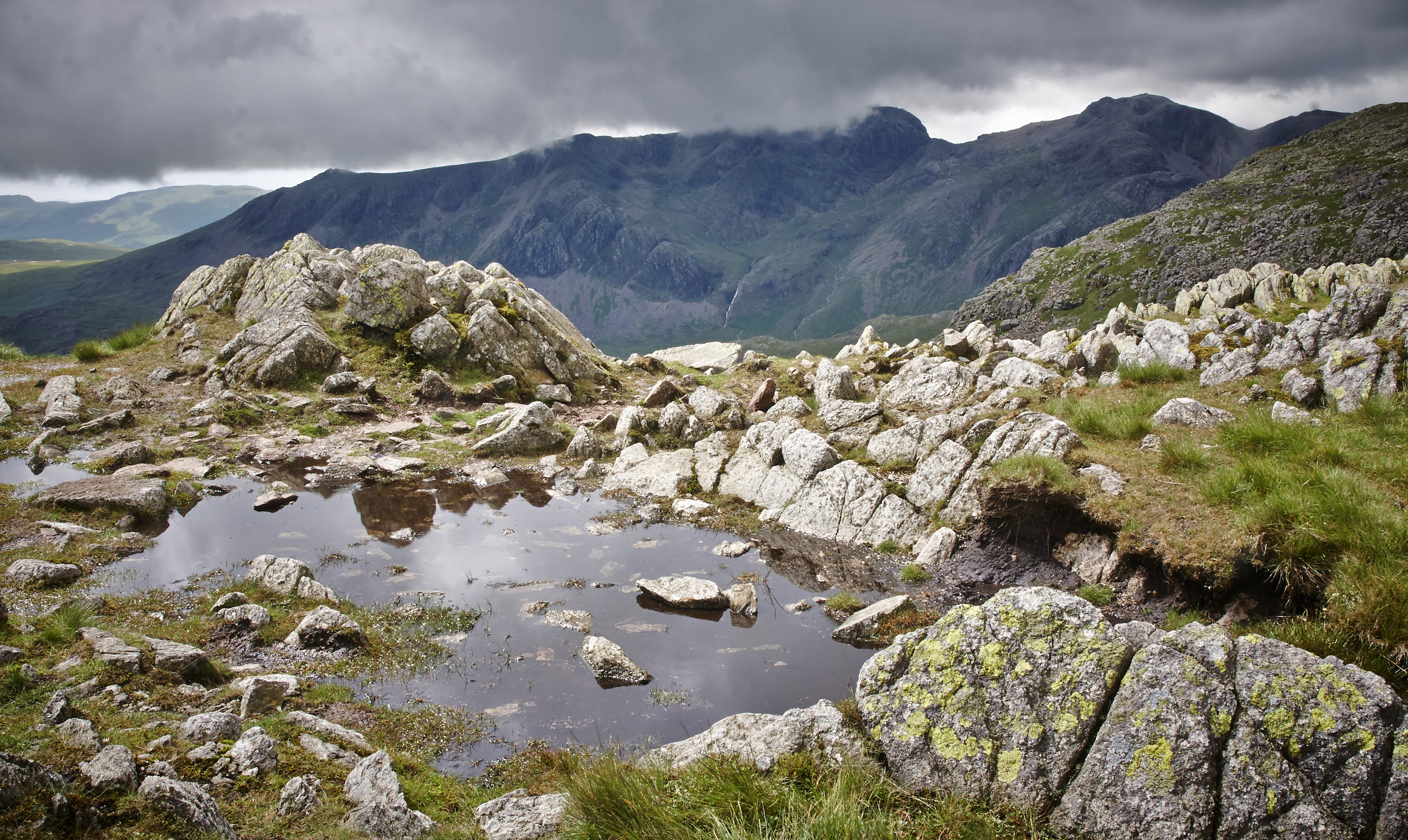 Lake District, Crickle Crags - 007