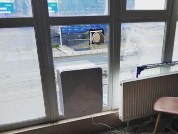 Бризер Тион на панорамное окно в ЖК Галерея ЗИЛ. Готовое решение