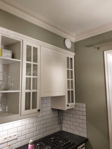Вытяжной вентилятор Marley Smart на кухне