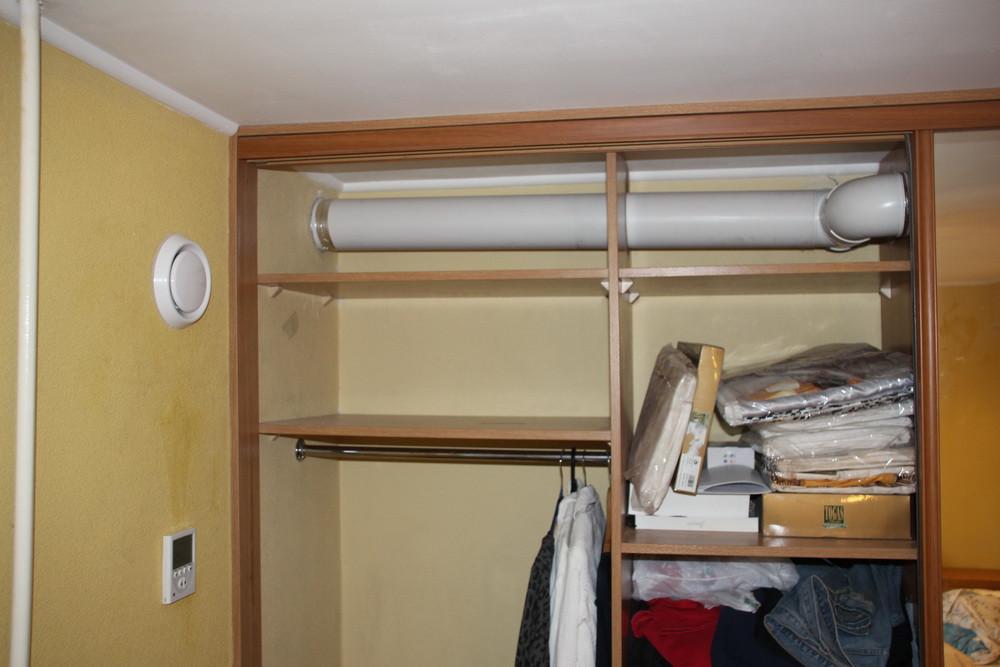 Вентиляция в глухой комнате