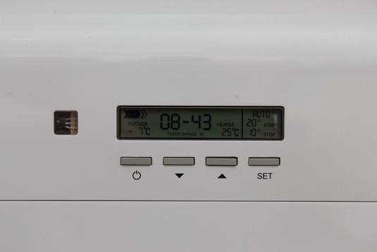 Тион О2 - панель управления