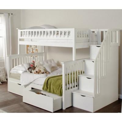вентиляция двухъярусная кровать, вентиляция кровать-чердак, вентиляция детская комната