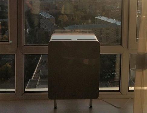 Бризер на окно. Тион 3S