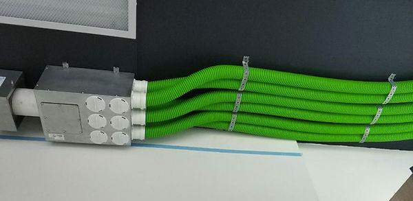 Шоурум компактной вентиляции: воздуховоды Blaufast