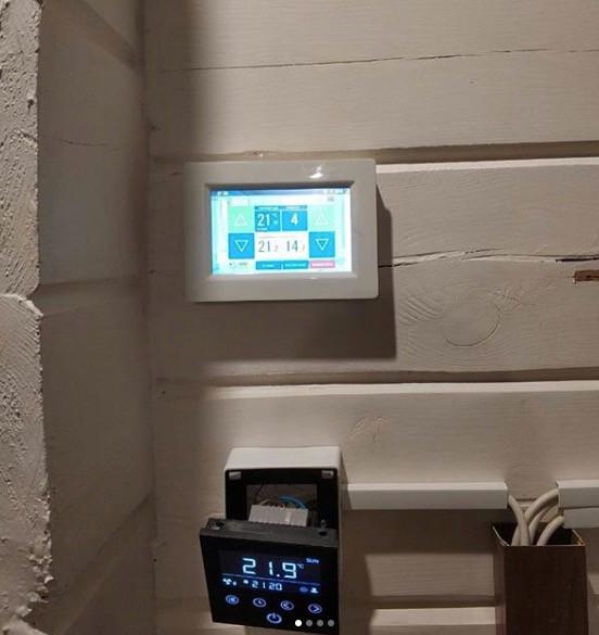 Автоматика Вентбокс для управления вентиляционной системой в бассейне