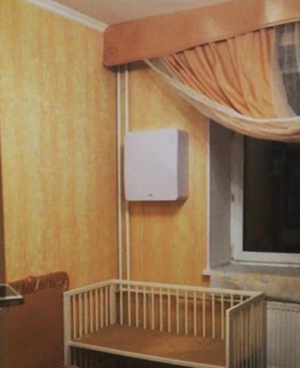 Бризер Тион О2 в детской комнате