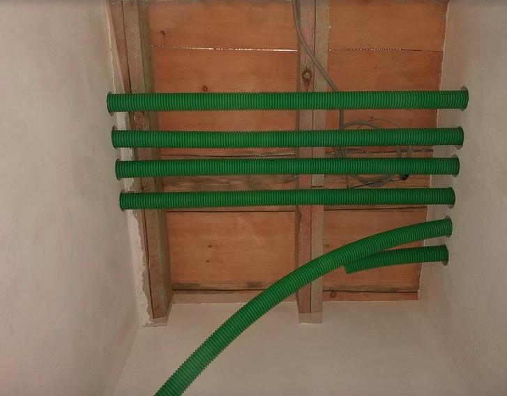 Гибкие зеленые воздуховоды