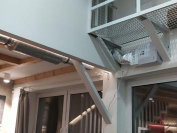 Бризер Тион Lite с прокладкой канала в глухую комнату. Готовое решение