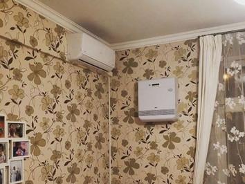 Современная вентиляция и кондиционирование за 175.000 руб. в двухкомнатной квартире. Готовое решение
