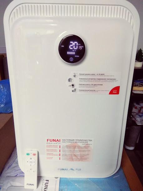 Приточно-вытяжная установка Funai Fuji