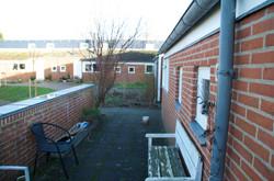 Terrassen ved indgangen