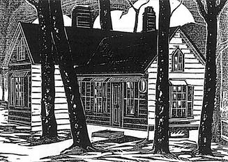 Nail House linocut_ James Cox 1935.png