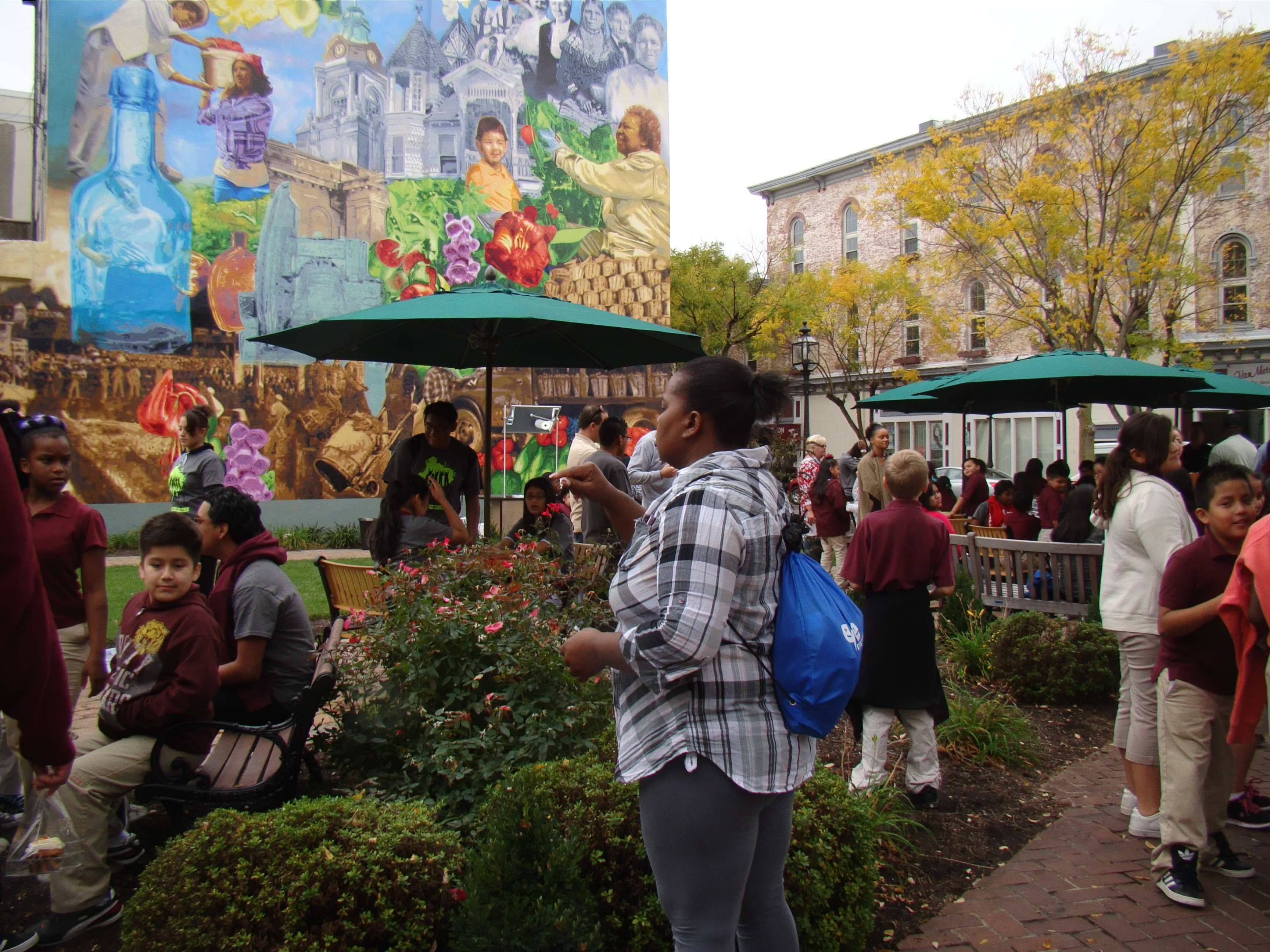 Downtown's pocket park