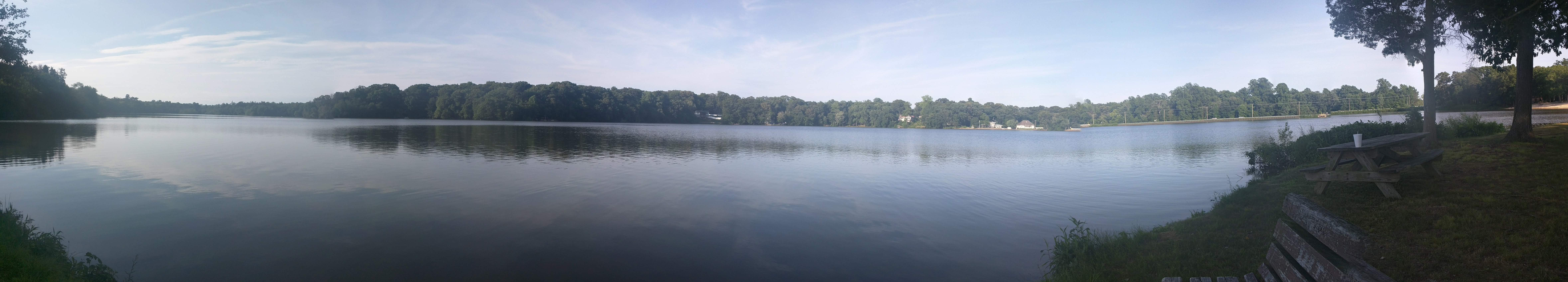 View of Sunset Lake from Piney Point
