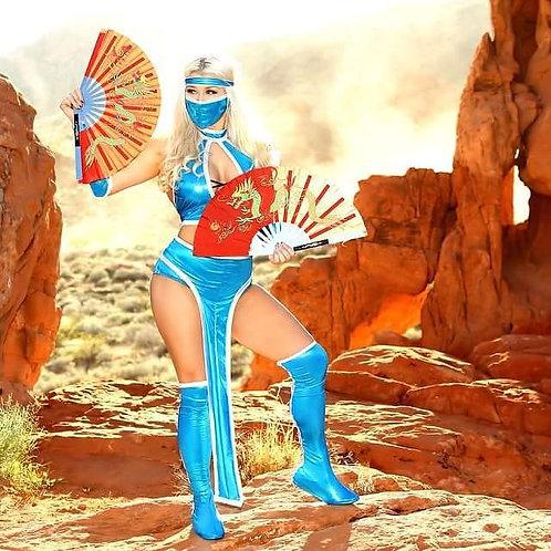 Mortal Kombat's Kitana Cosplay Costume