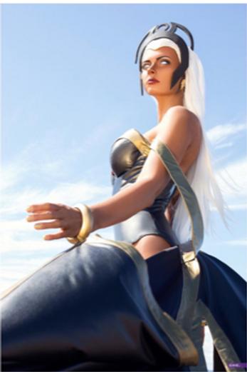 Marvel X-men Storm Inspired Cosplay Costume