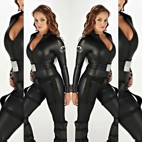 Avengers Black Widow Cosplay Costume