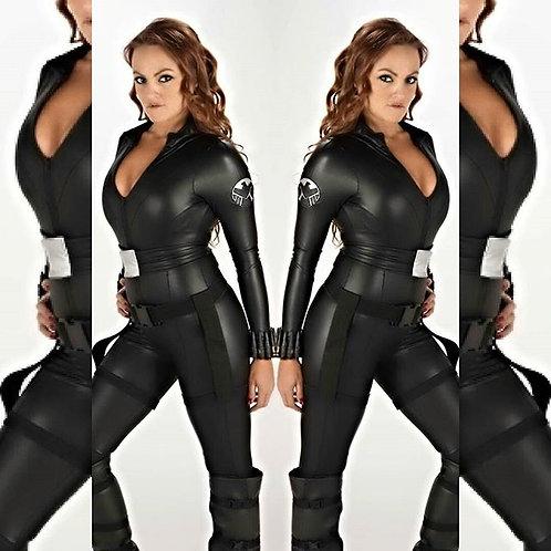 Avengers Black Widow Cosplay Costume