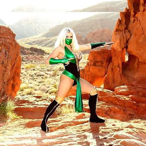 Mortal Komat's Jade Cosplay Costume