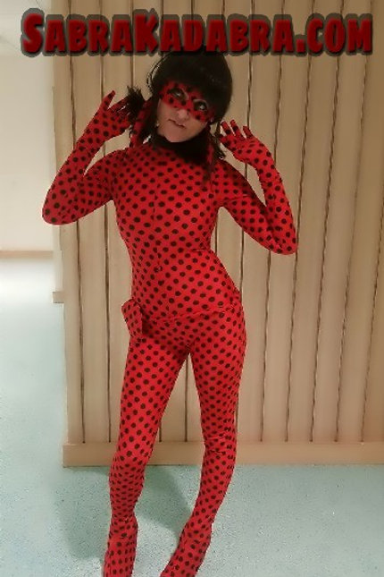 Miraculous Tales of Lady Bug Cosplay Costume