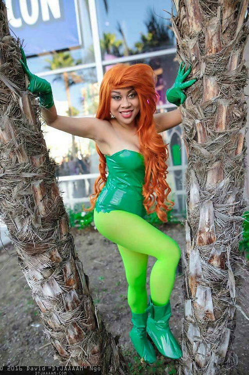 DC Poison Ivy Cosplay Costume