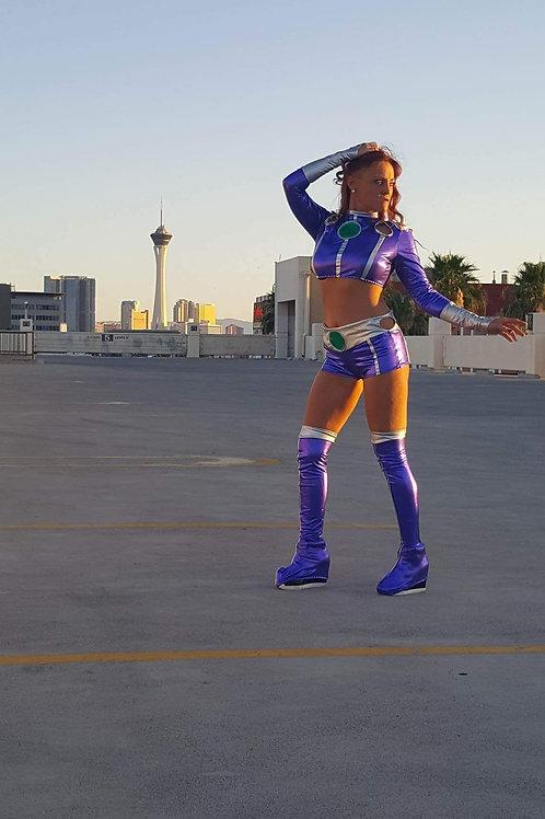 Teen Titans Starfire Cosplay Costume