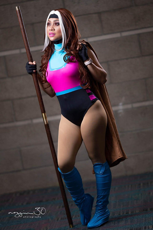 Female Gambit Leotard and cowl