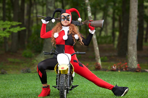 Classic Dc Comic Batmans Harley Quinn Halloween Cosplay costume