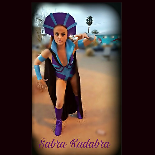 From Heman Sabra Kadabra's Evilynn Halloween Cosplay Costume
