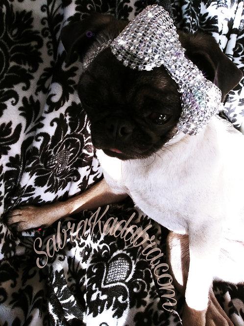 Cardi's Faux Bling Bow headband