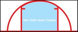 USA Cloth Goal Crease