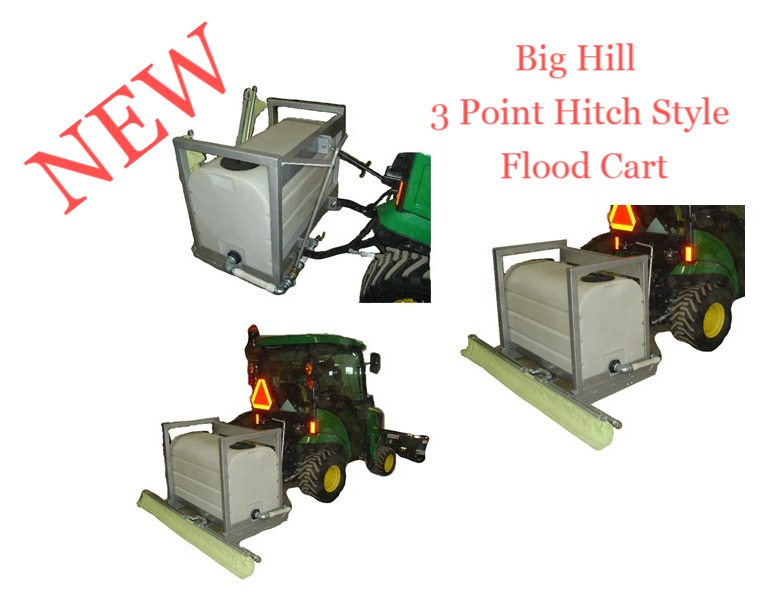 3 Point Hitch Style Flood Cart