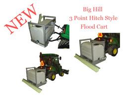 3 Point Hitch Style Flood Cart