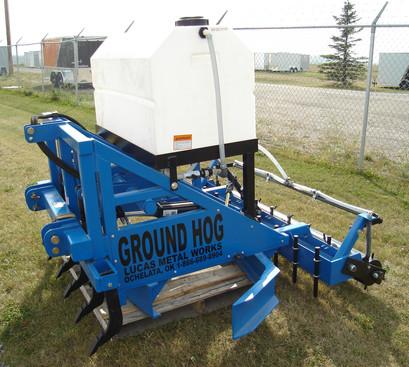 Ground Hog Sprayer side