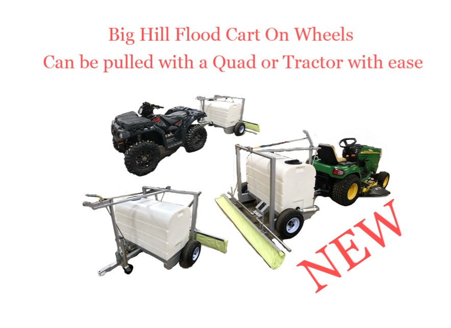 Flood Cart On Wheels