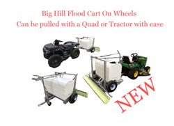 Flood Cart On Wheels