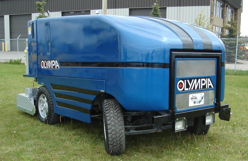 '06 Olympia Millennium 2000 Front Passen