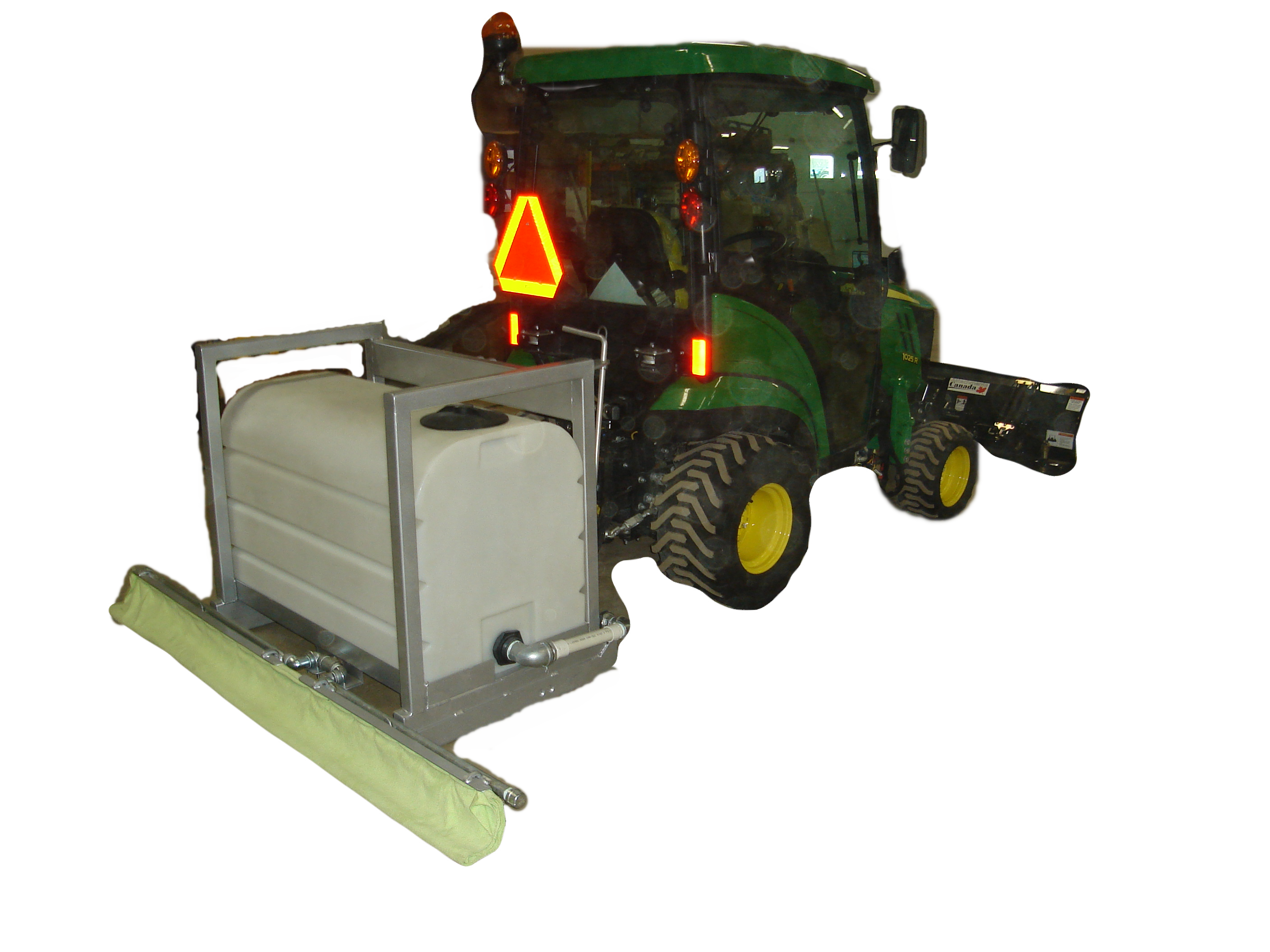 Big Hill 3 Point Hitch Flood Cart