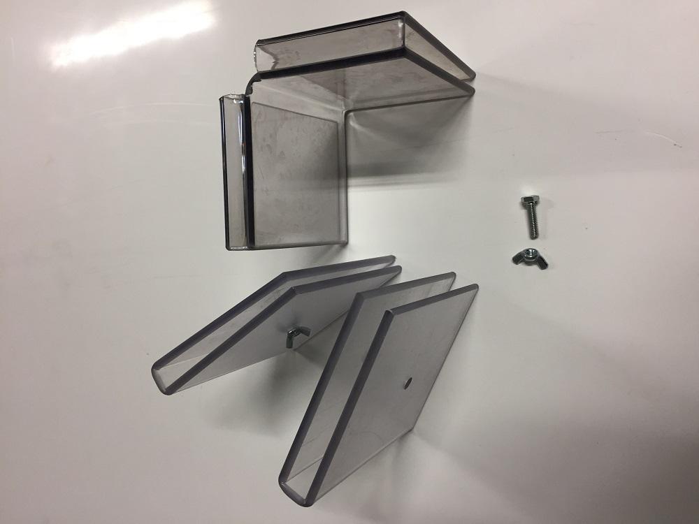 Lexan Glass Clips