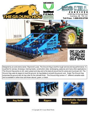 Ground Hog brochure