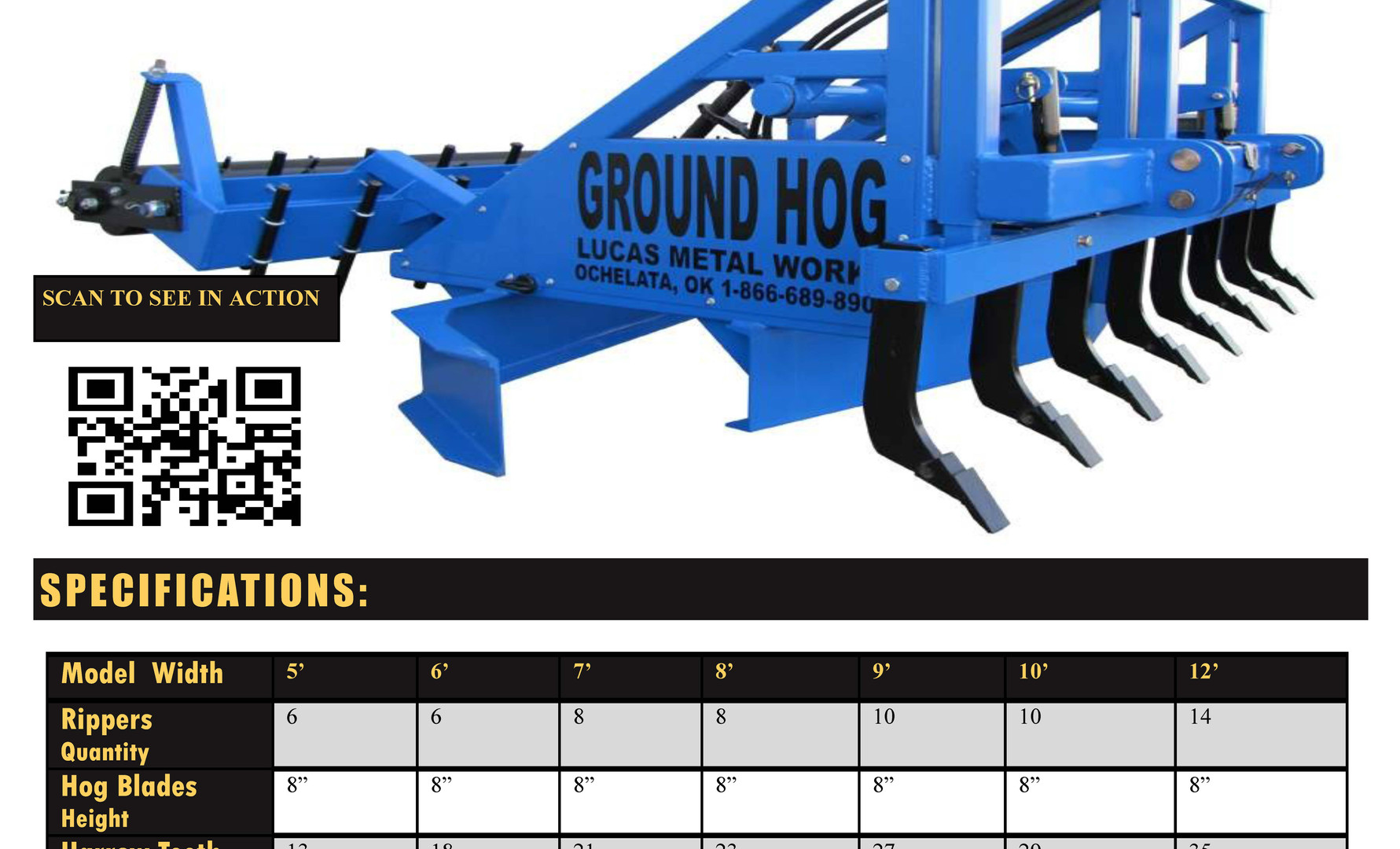 Ground Hog brochure