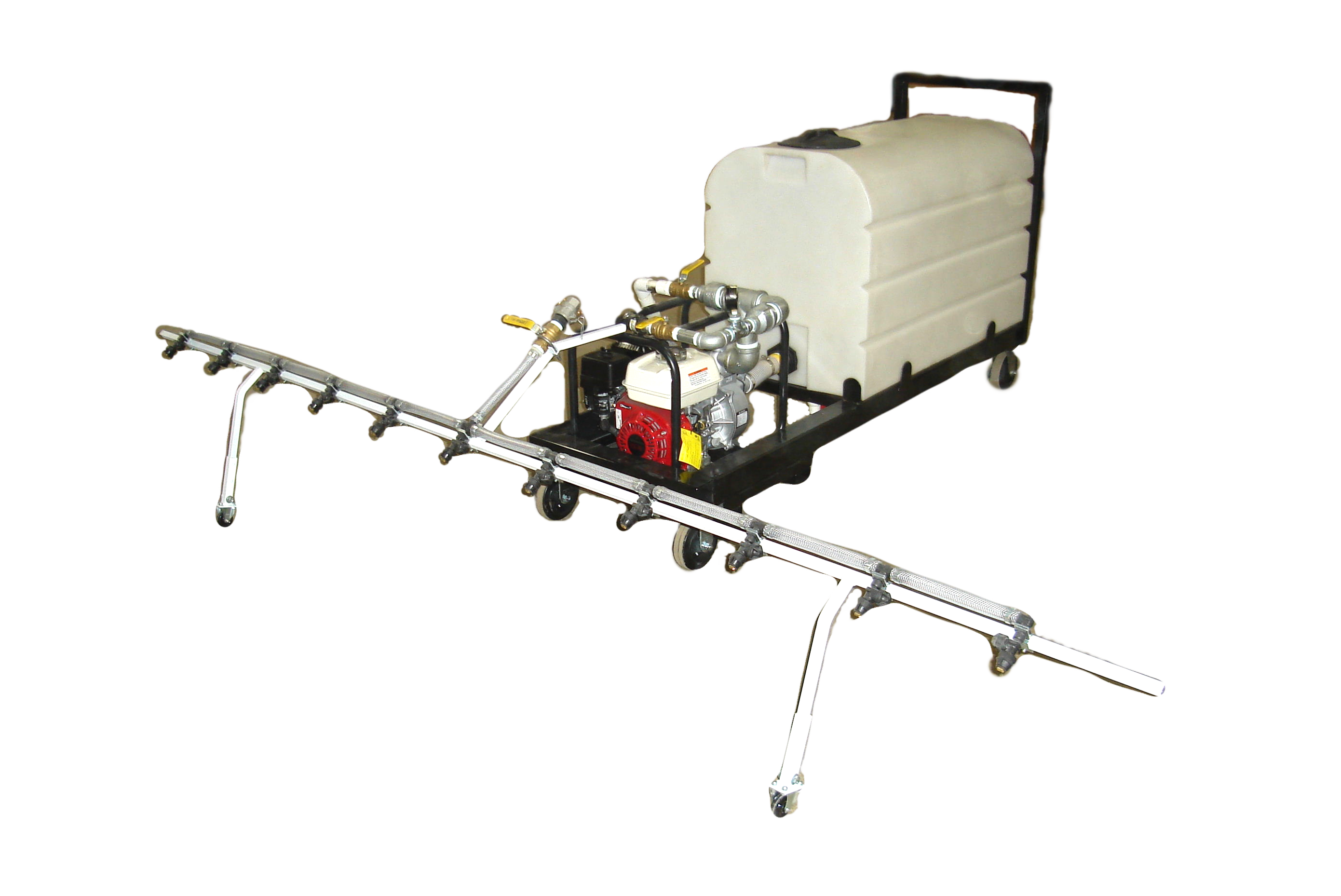 Complete Unit With Spray Bar