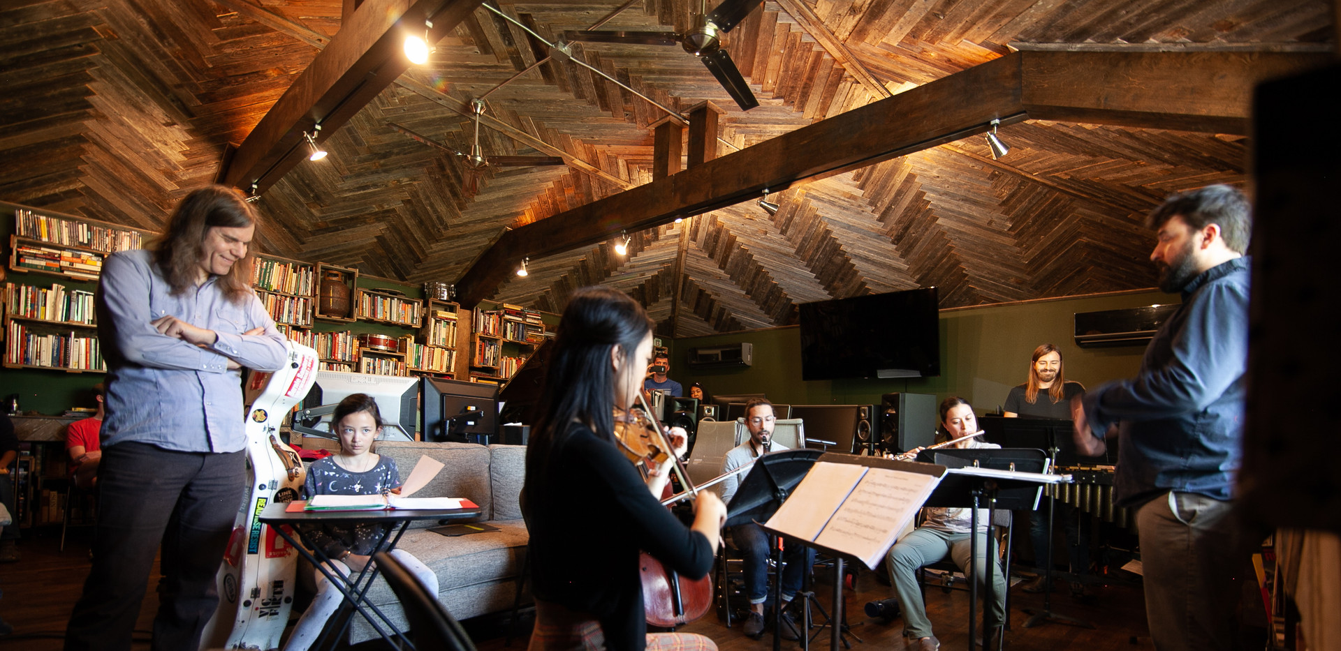 Young Composers Rehearsal