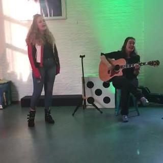 Zingen bij Theater 't Mozaïek
