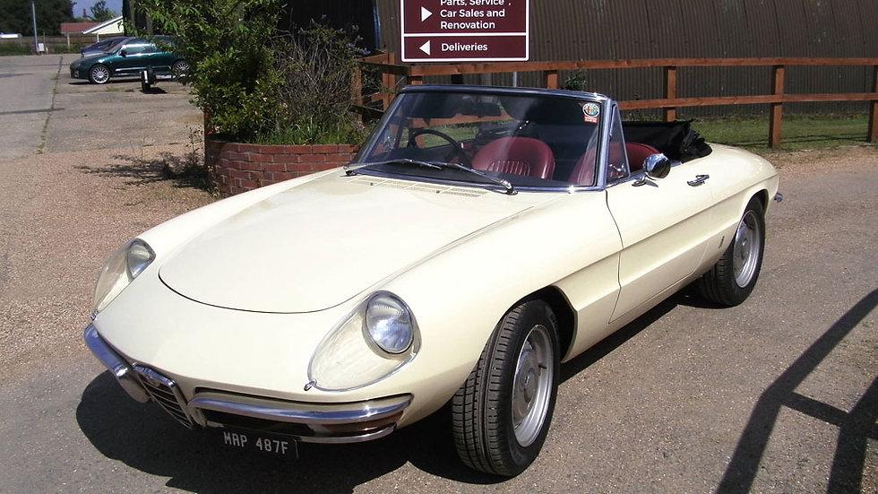 1967 Alfa Spider Duetto 1600