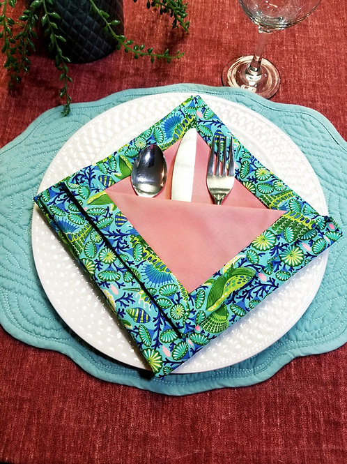 Double-sided Cloth Napkins - 8/13/20  2pm