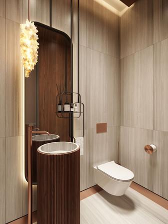 Bathroom in Jurmala