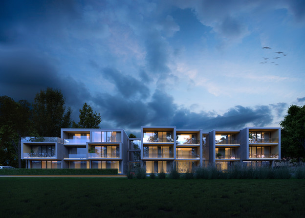 Residential project in Liepaja, Latvia