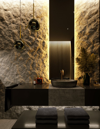 Apartment Nr.40, bathroom visualization